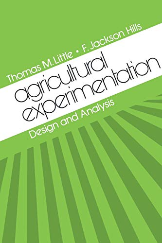 9780471023524: Agricultural Experimentation: Design and Analysis