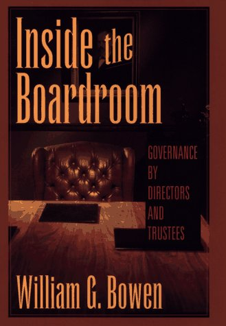 9780471025016: Inside the Boardroom: Governance by Directors and Trustees