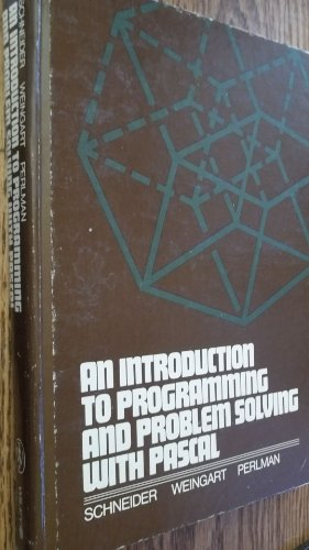 9780471025429: Introduction to Programming and Problem Solving with PASCAL
