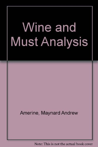 9780471025450: Wine and Must Analysis