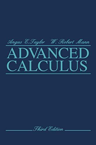 9780471025665: Advanced Calculus