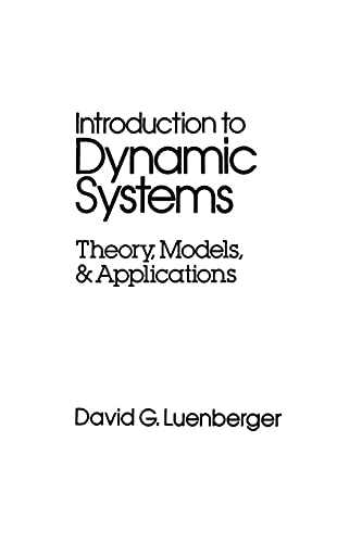 9780471025948: Introduction to Dynamic Systems: Theory, Models, and Applications