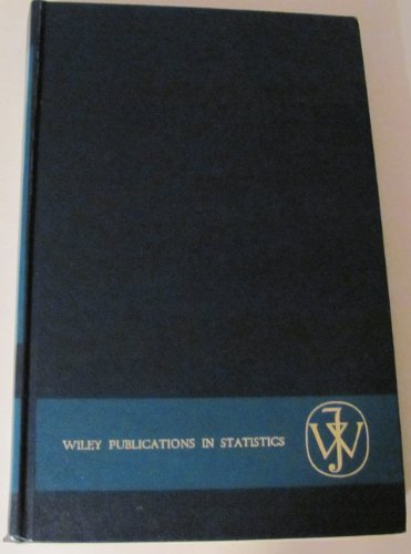 An Introduction to Multivariate Statistical Analysis (Wiley: T. W. Anderson
