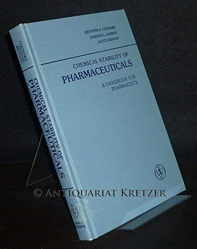 9780471026532: Chemical Stability for Pharmaceuticals: A Handbook for Pharmacists