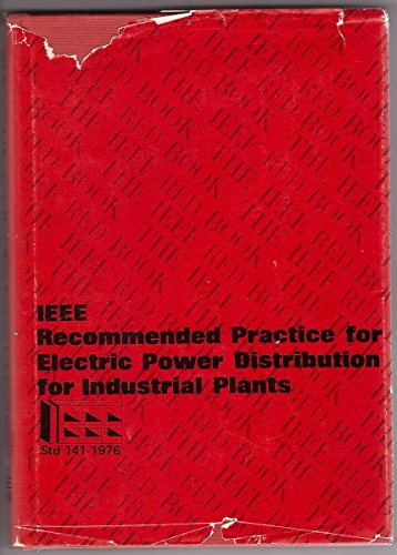 Recommended Practice for Electric Power Distribution for: Institute of Electrical