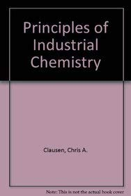 9780471027744: Principles of Industrial Chemistry