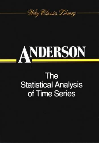 9780471029007: The Statistical Analysis of Time Series (Wiley Series in Probability and Statistics)
