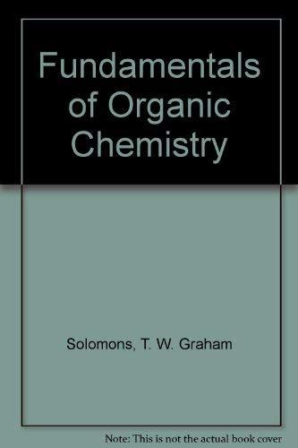 9780471029809: Fundamentals of Organic Chemistry
