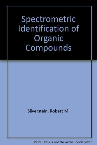 9780471029908: Spectrometric Identification of Organic Compounds