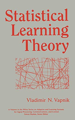 9780471030034: Statistical Learning Theory