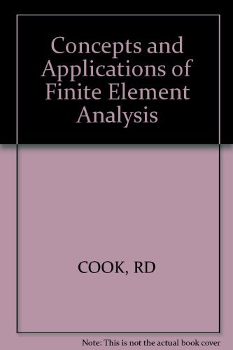 9780471030508: Concepts and Applications of Finite Element Analysis