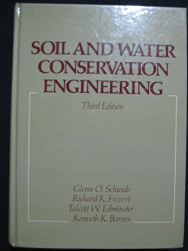 9780471030782: Soil and Water Conservation Engineering