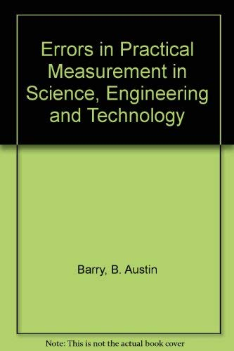 9780471031567: Errors in Practical Measurement in Science, Engineering, and Technology