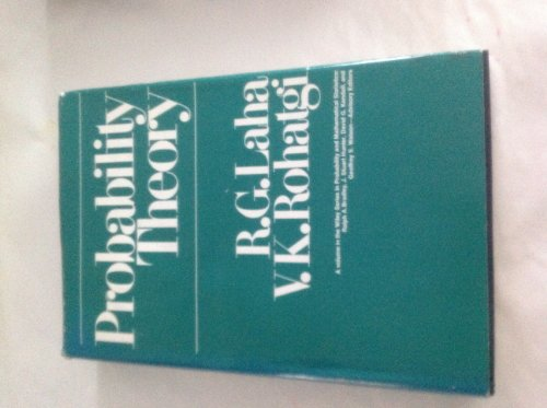 Probability Theory (Wiley Series in Probability and: R. G. Laha,