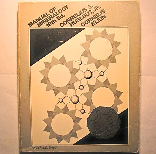 9780471032885: Dana's Manual of Mineralogy