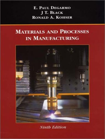 9780471033066: Materials and Processes in Manufacturing
