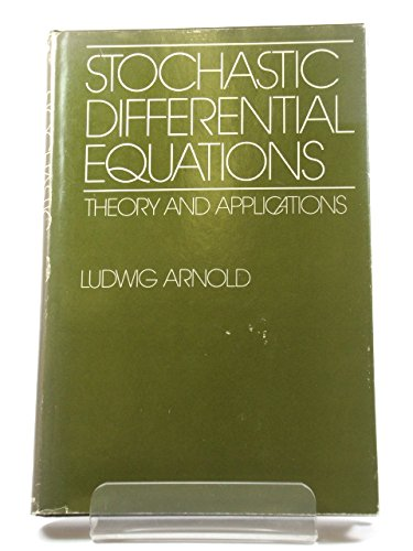 9780471033592: Stochastic Differential Equations: Theory and Applications