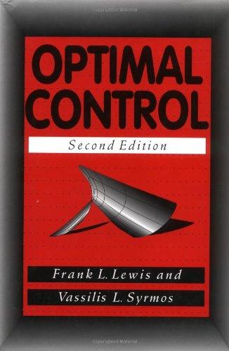 9780471033783: Optimal Control