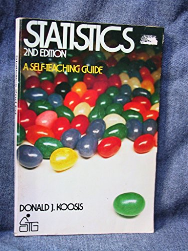9780471033912: Statistics (A self-teaching guide)