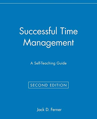 9780471033929: Successful Time Management: A Self-Teaching Guide (Self-teaching Guides)