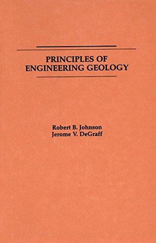 9780471034360: Principles of Engineering Geology