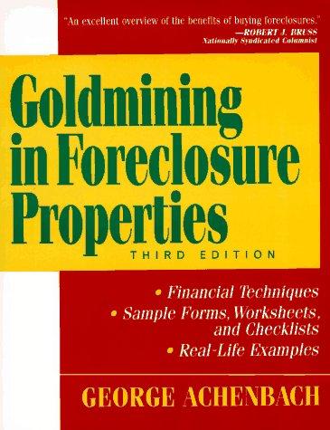 9780471034513: Goldmining in Foreclosure Properties