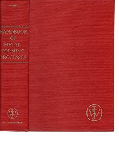 9780471034742: Handbook of Metal-forming Processes