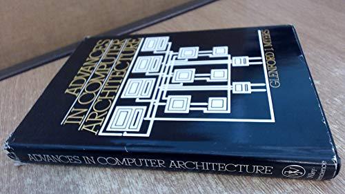 9780471034759: Advances in Computer Architecture