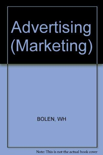 9780471034865: Advertising (Marketing)
