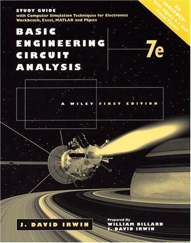 9780471034926: Basic Engineering Circuit Analysis, Study Guide