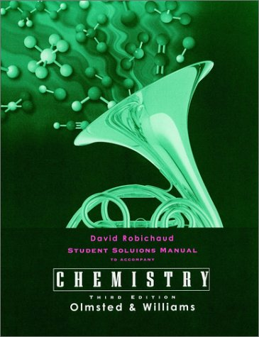 9780471035121: Chemistry, Student Solutions Manual