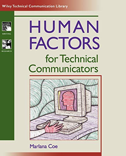 9780471035305: Human Factors for Technical Communicators (Wiley Technical Communication Library)