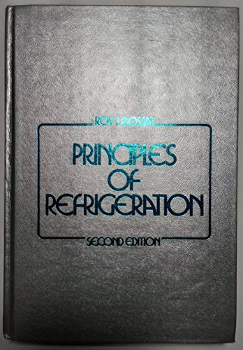 9780471035503: Principles of Refrigeration