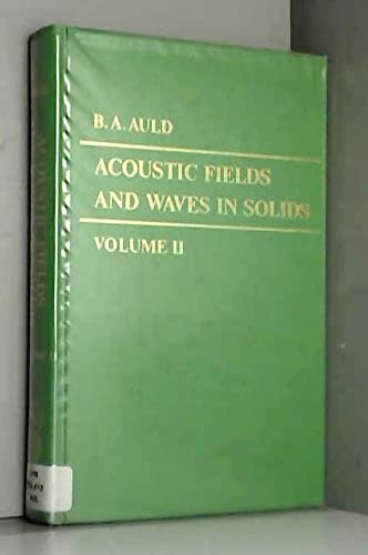 9780471037019: Acoustic Fields and Waves in Solids (Volume 2)