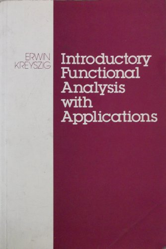 9780471037293: Introductory Functional Analysis with Applications