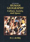 9780471039143: Human Geography: Culture, Society, and Space