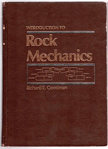 9780471041290: Introduction to Rock Mechanics