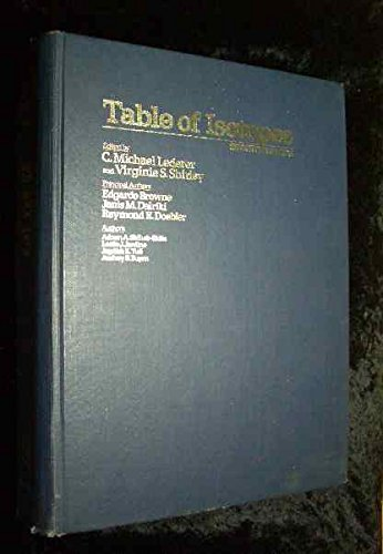 9780471041795: Table of Isotopes