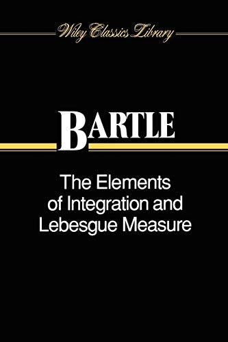 9780471042228: The Elements of Integration and Lebesgue Measure