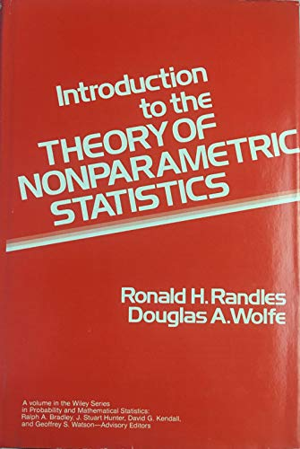 9780471042457: Introduction to the Theory of Nonparametric Statistics (Wiley Series in Probability and Mathematical Statistics)