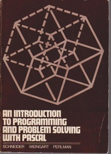 9780471044314: Introduction to Programming and Problem Solving with PASCAL