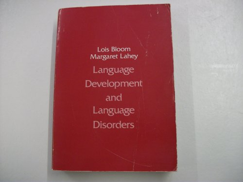 9780471044383: Language Development and Language Disorders (Wiley series on communication disorders)