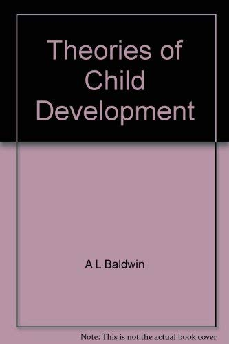 9780471045816: Baldwin Theories of Child Development