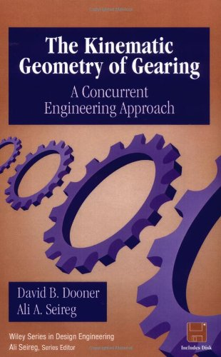 9780471045977: The Kinematic Geometry of Gearing: A Concurrent Engineering Approach (Design Engineering)