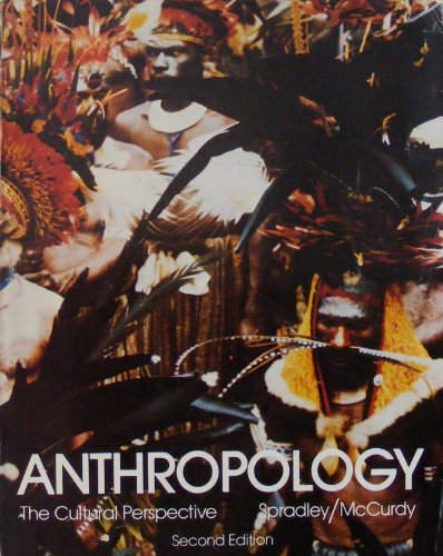 9780471046011: Spradley Anthropology - the Cultural P: The Cultural Perspective