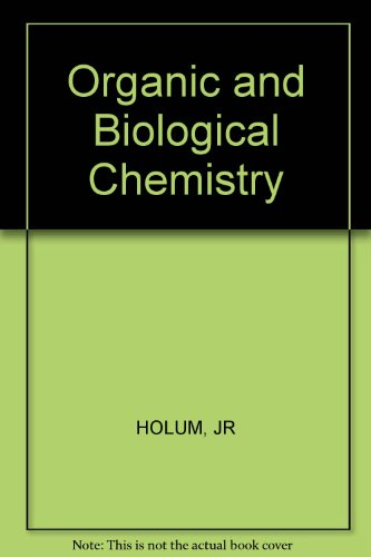 9780471046196: Organic and Biological Chemistry
