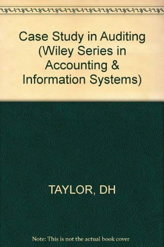 9780471046264: Case Study in Auditing (Wiley Series in Accounting & Information Systems)