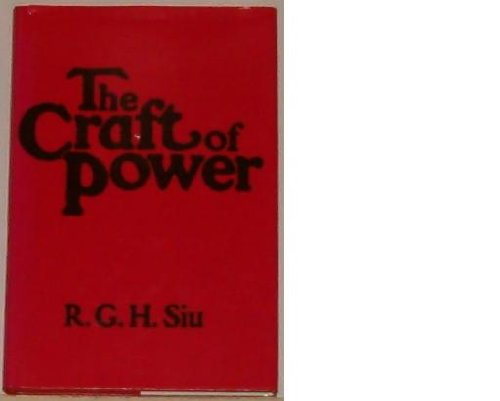 9780471046288: The Craft of Power