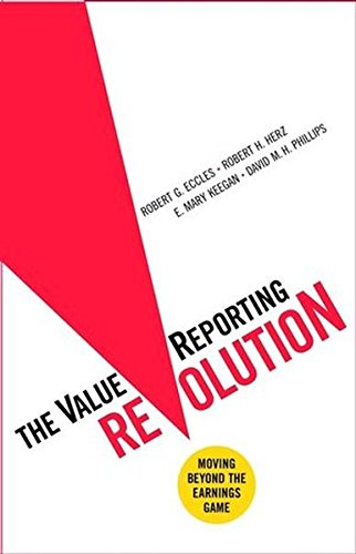 9780471046653: The ValueReporting Revolution: Moving Beyond the Earnings Game