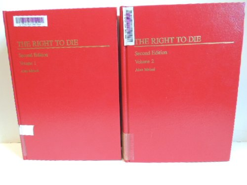 9780471046721: The Right to Die: Annually (Medico-Legal Library)